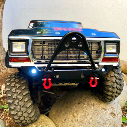 TRX4 82046-4 Metal Inlet Grille Cover for 1//10 RC Crawler TRAXXAS Ford Bronco