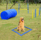 Pet Agility Training Adjustable Set Dog Exercise Obedience Play Tunnel Equipment