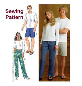 Kwik Sew K3882 Pattern Misses Sleep Pants Shorts /& Top XS-XL BN