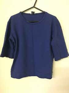 Blue-Zara-Jumper-women-039-s
