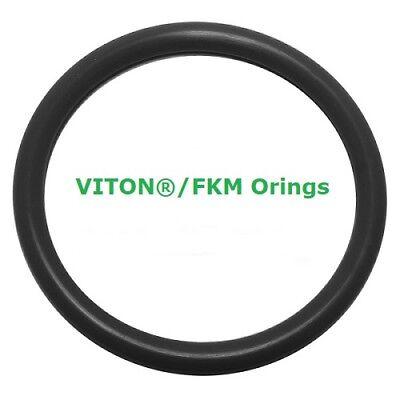 Viton Heat Resistant Black O-rings  Size 006 Price for 50 pcs
