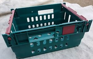 52302e859f2e Details about 6 x PLASTIC STRONG STACKABLE STORAGE TRAYS, BOXES, CONTAINERS  CRATES 300x400x190