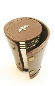Para Wings 4 Stacking Stirrup Shot Cups In Leather Case NEW BKG43 FIjyE29x-09101223-820182287