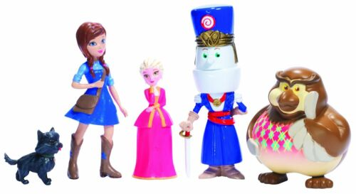 Bandi Legends of Oz Dorothy/'s Return 5 Pack Figurines #33525 New Sealed