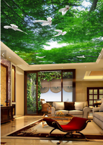 3D Green Bamboos 895 Wall Paper Wall Print Decal Wall Deco AJ WALLPAPER Summer
