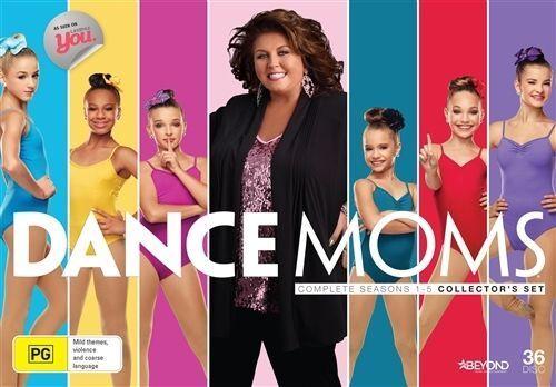 Dance Moms : Season 1-5 (DVD, 2016, 36-Disc Set) New & Sealed - Region 4