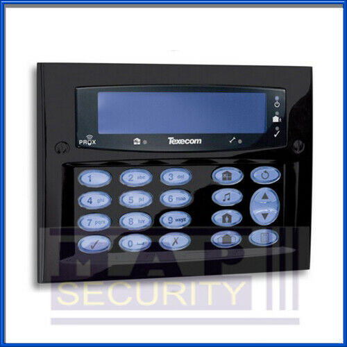 Texecom Premier Elite Raso Diamante Ricochet Teclado Negro Con Prox DBD-0130