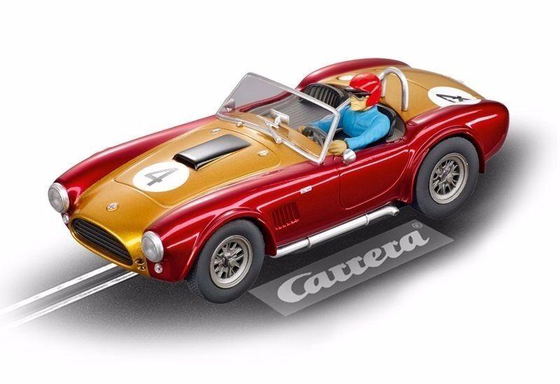 Carrera Evolution 27433 SHELBY COBRA 289 Universal Memories,   no. 4   NIP