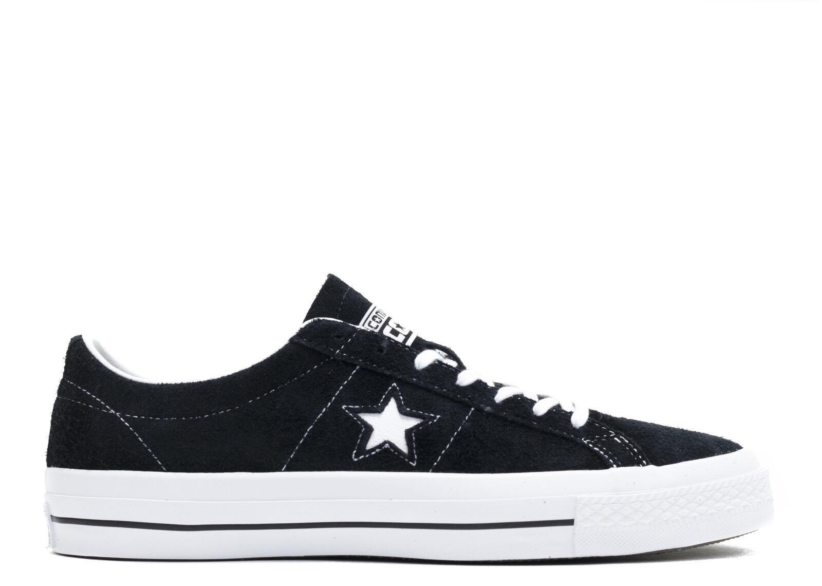 NUOVO Converse One Star Ox In In In Pelle Scamosciata Scarpe da ginnastica    neri in pelle scamosciata scarpe Le Fleur | Vendite Online  d4260b