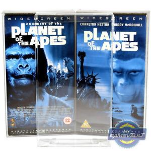 10-x-VHS-Video-Carton-Box-Protectors-0-5mm-PET-Plastic-Pre-Cert-Cardboard-Sleeve