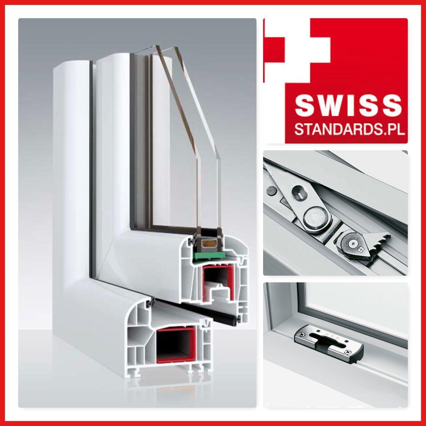 2 Flügel Fenster Dreh   Dreh Kipp 2   3 Fach Verglast  Ovlo Classic 6- Kammer