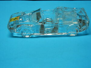 FERRARI-328-GTS-GLASS-LEAD-CRYSTAL-CAR-PAPER-WEIGHT-IN-EXCELLENT-CONDITION