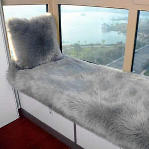 Image Is Loading 5 039 X7 039 Fluffy White Faux Fur