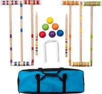 Hey! Play! - Croquet Set with Carrying Case