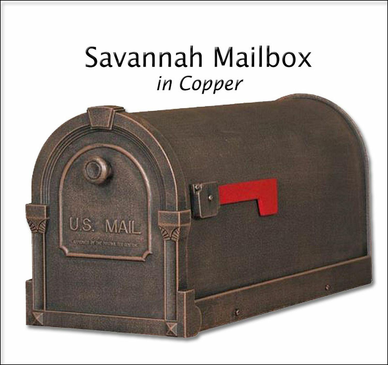 Special Lite Savannah Curbside Mailbox No Rust Powder Coated - 8 Farbe Choices