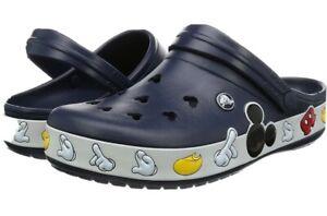 Crocs Crocband Mickey Clog Navy Blue