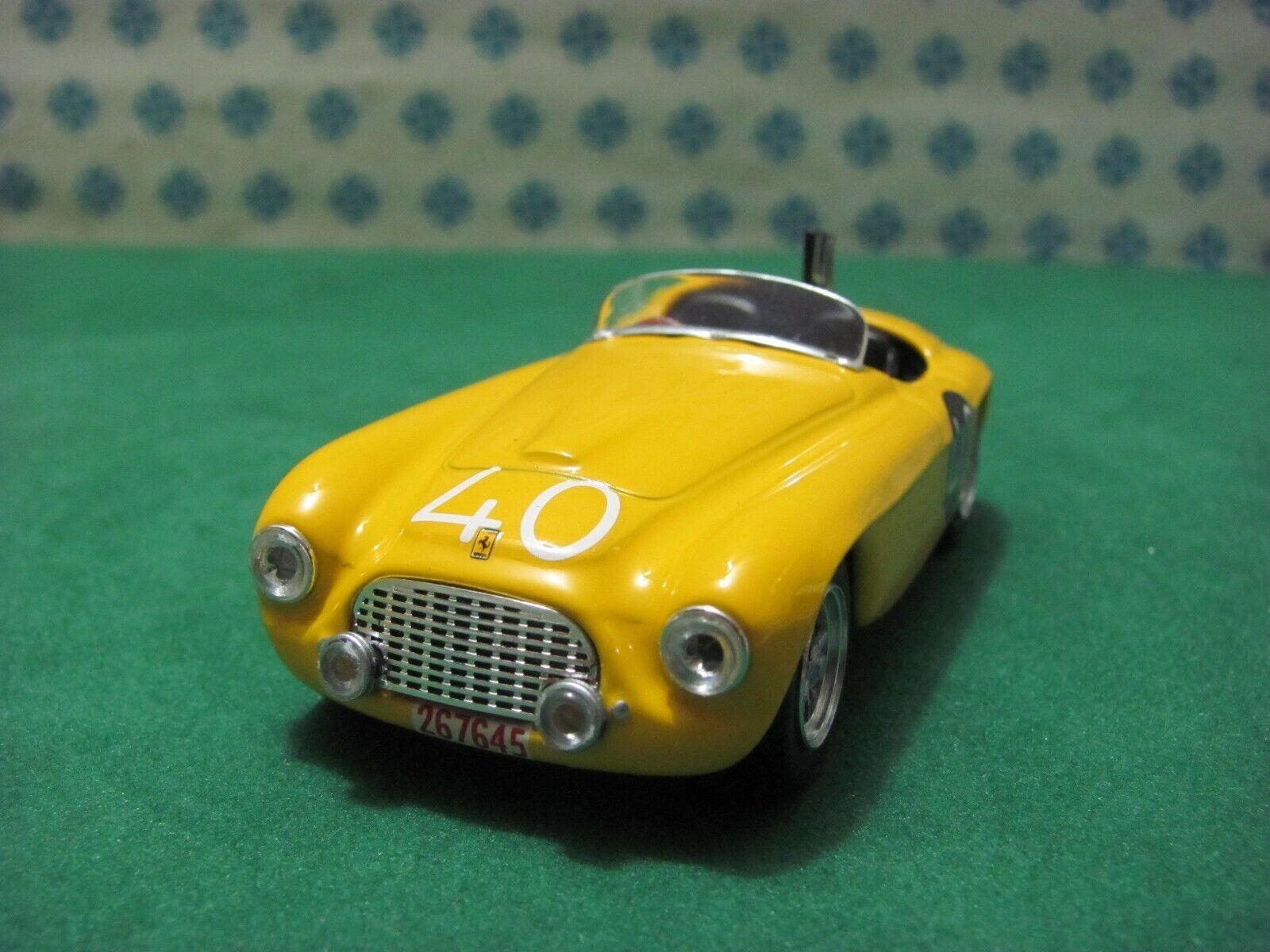 ti renderà soddisfatto FERRARI 166 MM SP.  2000cc. Spyder touring     SPA 1949  - 1 43 Art modello  204  vanno a ruba