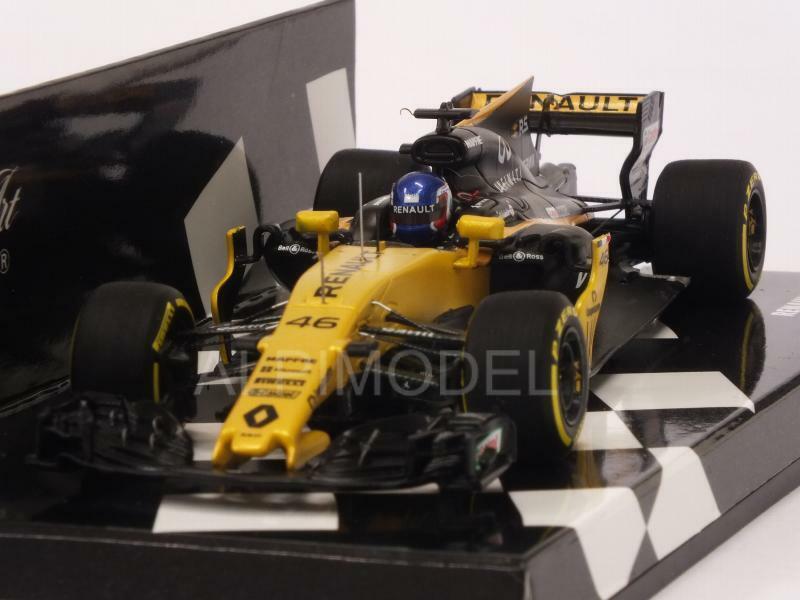 Renault R.S.17 Test Bahrain 2017 Sergej Sirougekin 1 43 MINICHAMPS 417170046
