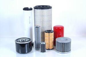 Filterset Massey Ferguson MF 6150 Motor Perkins 1004.4THR Filter