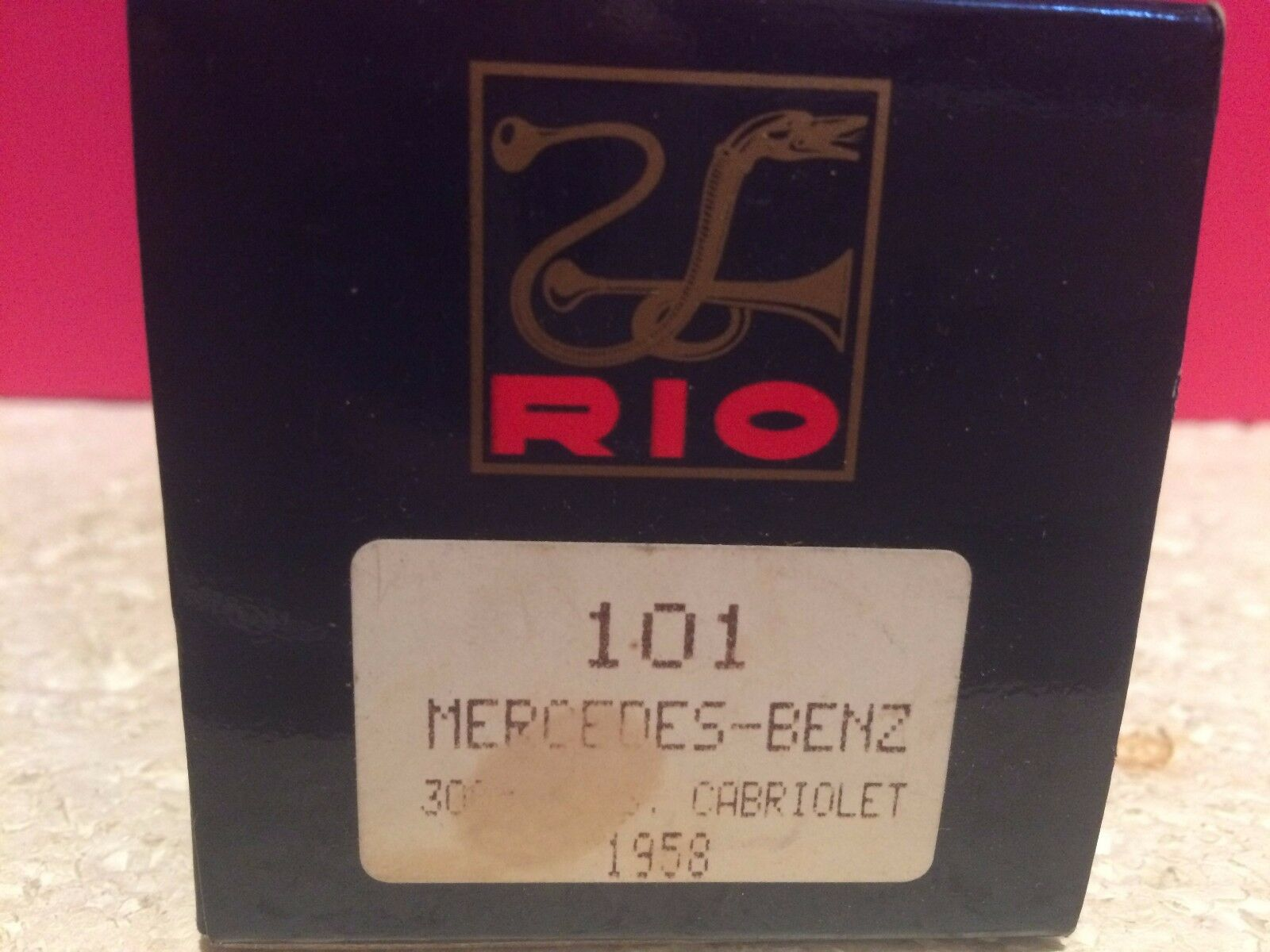 RIO SUPERBE SUPERBE SUPERBE MERCEDES BENZ 300 CABRIOLET 1958  NEUF EN BOITE 1 43 756d41
