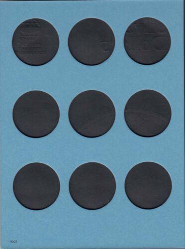 2 Whitman Coin Folders Mix//9025 For Morgan Silver Dollars Plain 27 Slots No Date