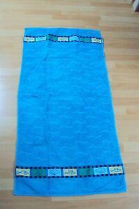 ROSS-Handtuch-Duschtuch-Saunatuch-NEU-Badetuch-Strandlaken-blau-Maritim