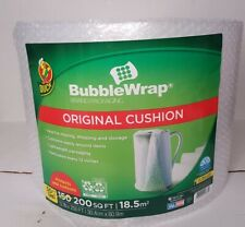 Duck Brand Original Bubble Wrap Cushioning 12 In X 200 Ft Clear