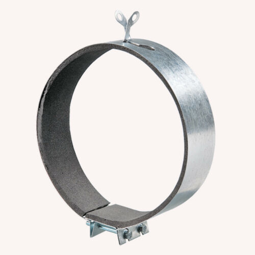 """Hydroponics Ducting Extractor Fans Filter Padded Fast Clamp 4/"""" 5/"""" 6/"""" 8/"""" 10/"""" 12/"""""""