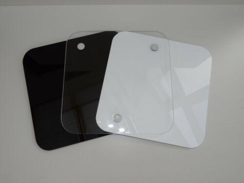 Gleiter Gleitbrett Thermomix TM6 TM5 Tm31 Edler Hochglanz glasklar-weiß-schwarz