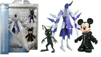 Kingdom Hearts Mickey Mouse Assassin and Shadow Select Figure Series 3 Disney