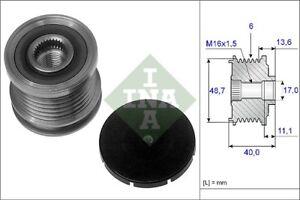 INA-Over-Running-Alternator-Clutch-Pulley-535-0085-10-535008510-5-YR-WARRANTY