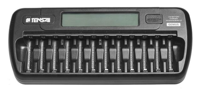 EverAct TI-1200L Carica batterie stilo AA ministilo AAA 1-12 canali intelligente