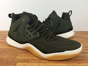 55b8dbf216fc Nike Jordan DNA LX Men s Shoes AO2649-301 Olive Green SIZE 12 ...