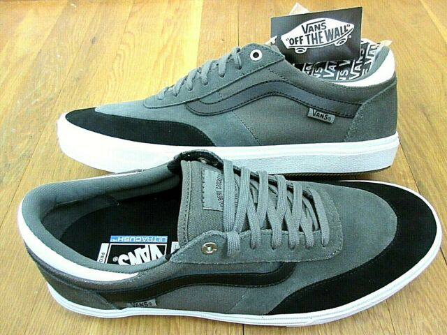 3cae70c86d Vans Mens Gilbert Crockett Gunmetal Grey Black White Skate shoes size 12 NWT