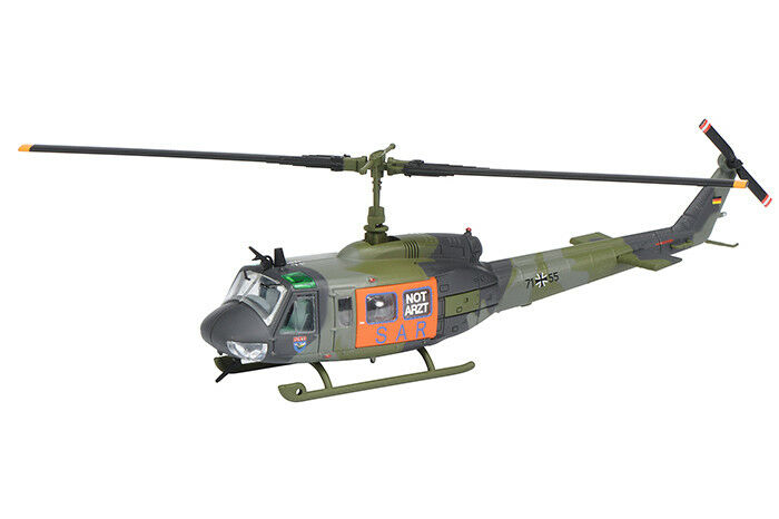 Schuco 452625700 Bell Uh 1D Rescue Helicopter Sar 1 87 Metal Rettungsflieger