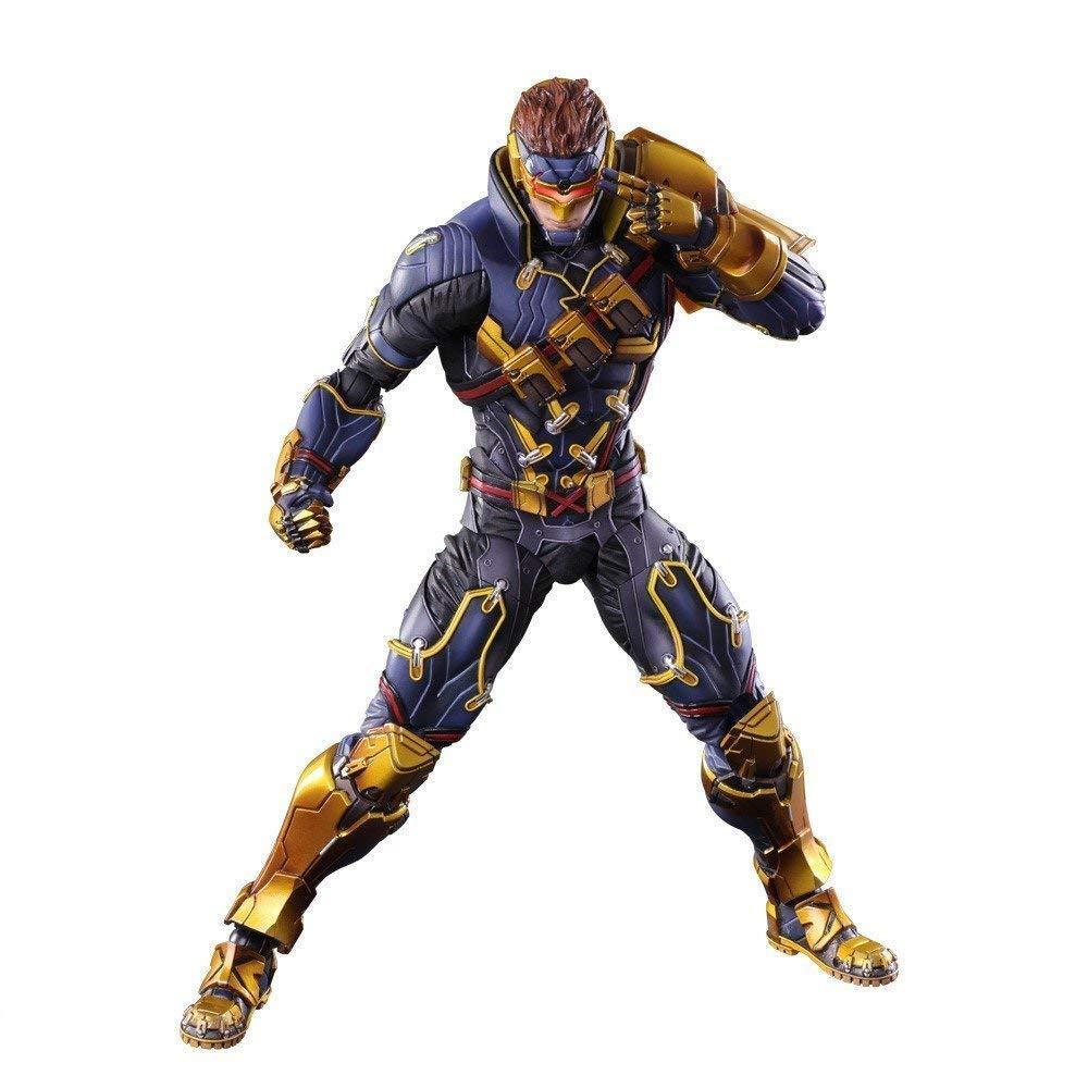 MARVEL COMICS VARIANT PLAY ARTS Kai X-Uomo Cyclops figure SQUARE ENIX Japan、