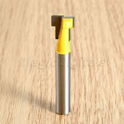 "1//4/"" Shank Professional Router Bit T-Slot Molding Cutter Woodwork Milling Tool"