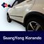 SsangYong Korando 2017-onward Rubbing Strips|Door Protectors|Side Protection Kit