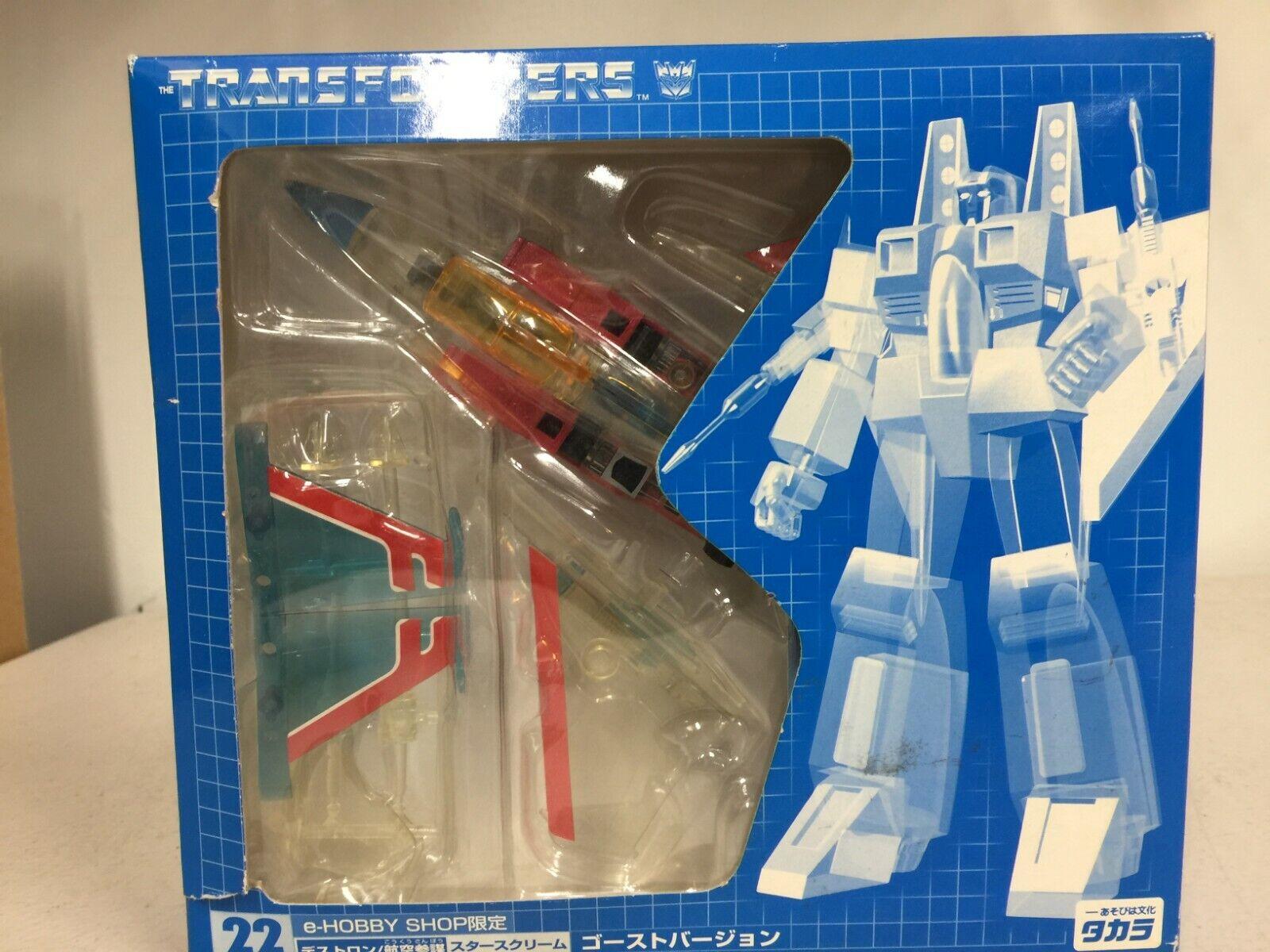 Transformers Decepticon Starscream Japanese Edition
