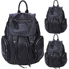 Fashion Women PU Leather Backpack Rucksack School Travel Handbag shoulder  bag 21ad1bb472bbf