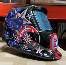 Whld New Solar Auto Darkening Welding Helmet Arc Tig Mig Certified Mask Grinding