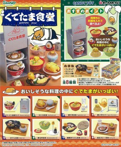 Sanrio Gudetama Gudetama Diner BOX complete collection of 8 JAPAN import F//S NEW