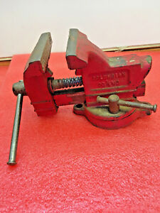 Bs9 Vintage Columbian Bench Vise Usa Made No 03 1 2 M3