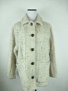 Tissage S manteau de cardigan de M chandail de ivoire iranien la menthe à la veste main iran rrOxRn6
