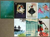 Folio Society Decorative Cards & Envelopes Set Of 6 Brand