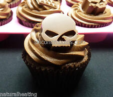 10 cell SKULLS Chocolate Candy Mould Skull Ice Tray Baking Cake Startrek Retro