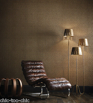 DESIGNER ANTHOLOGY BY HARLEQUIN WALLPAPER - SMALTI 110718 - WALNUT RRP £99