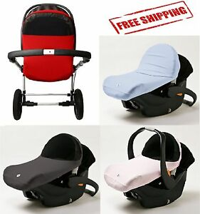 baby sunshade stroller cover wind infant car seat sun canopy shade uv protection ebay. Black Bedroom Furniture Sets. Home Design Ideas