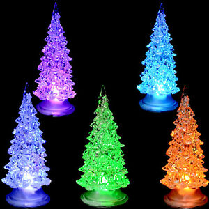 image is loading colorful fiber optic christmas tree led home party
