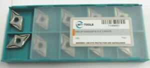 10-Plaquettes-pour-Tourner-Dnpg-150608FN-EX-LW620-de-Lmt-tools-Neuf-H29836